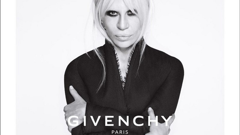 Donatella Versace for Givenchy 2015 ad campaign