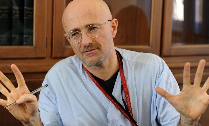 Doktor Sergio Canavero chce dokonać przeszczepu łowy