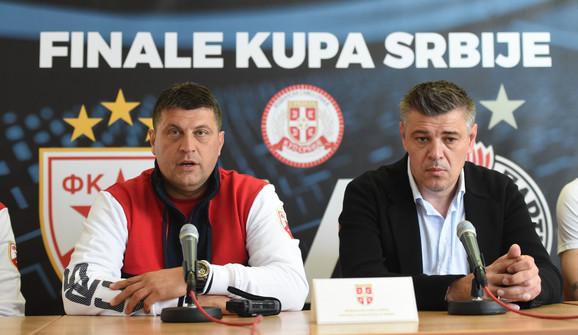 Vladan Milojević i Savo Milošević