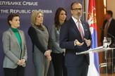 Ana Brnabic, Sem Fabrici, Tanjug, Kabinet predsednice Vlade