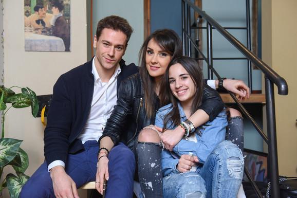 Luka, Dragana i Jelena