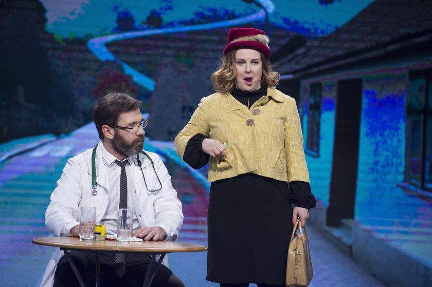 Joanna Kołaczkowska, Tomasz Mejer (kabaret Hrabi)