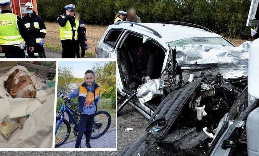 Mały Tymek stracił rodziców w wypadku. Przed nim długa walka o zdrowie.