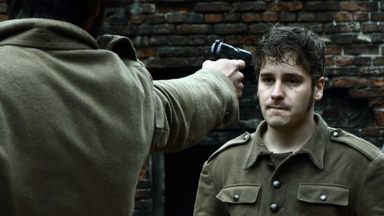 """Krzysztof Zalewski-Brejdygant w filmie """"Historia Roja"""""""