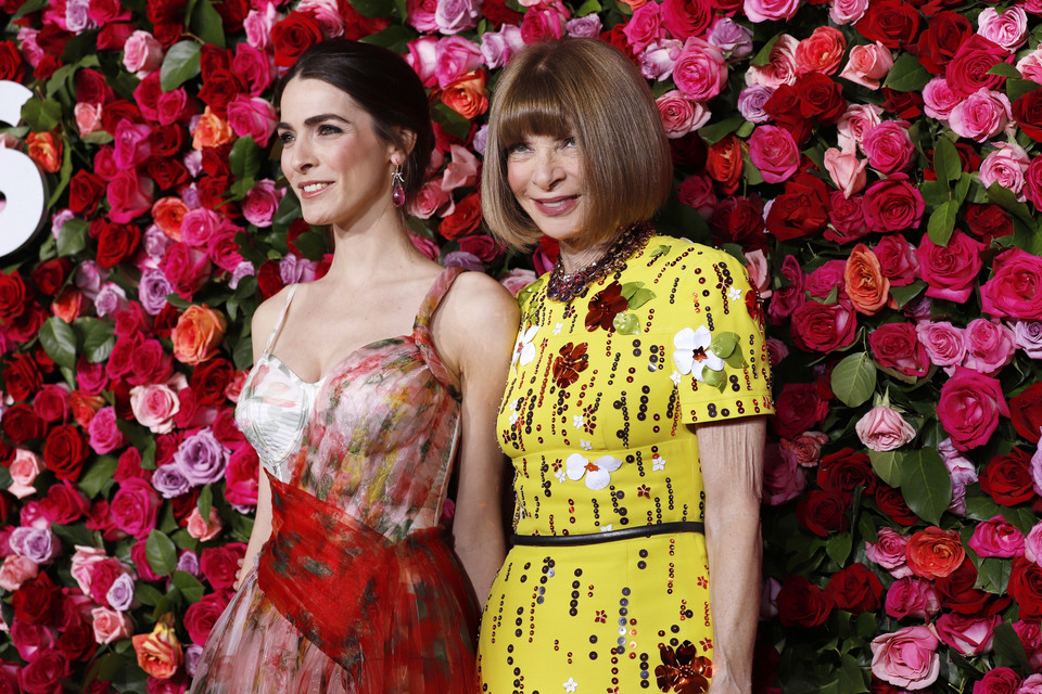 Anna Wintour z córką Bee Shaffer
