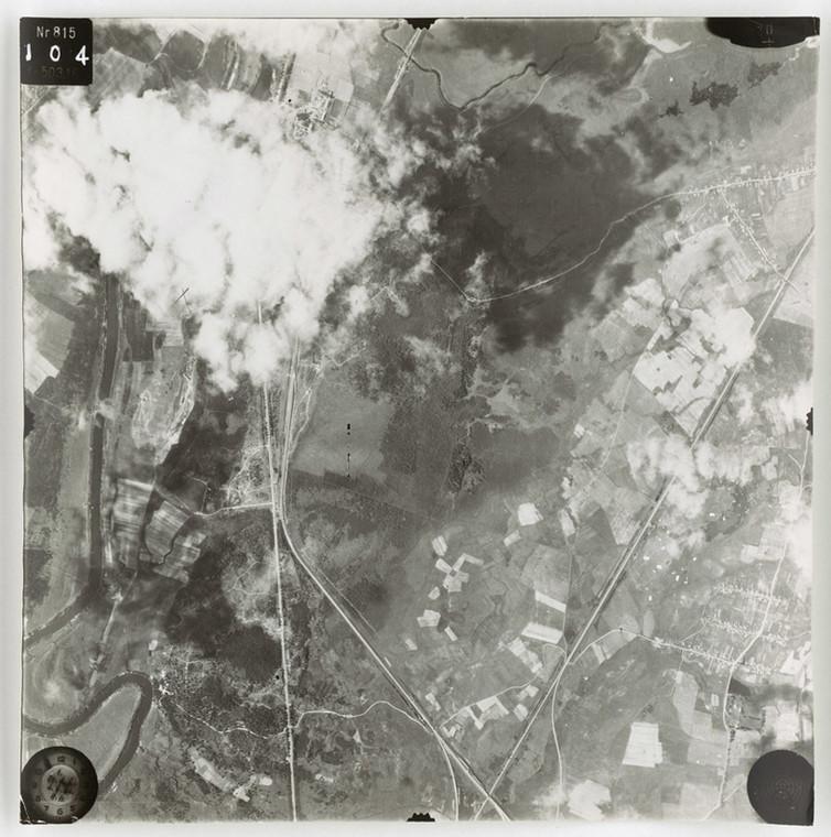 Las Katyński. Fot. National Archives