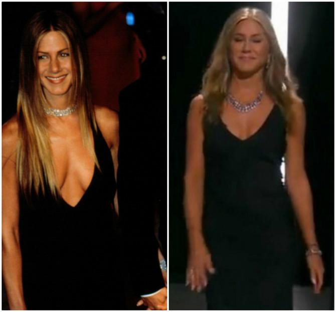 20 godina razlike, ali identična haljina!