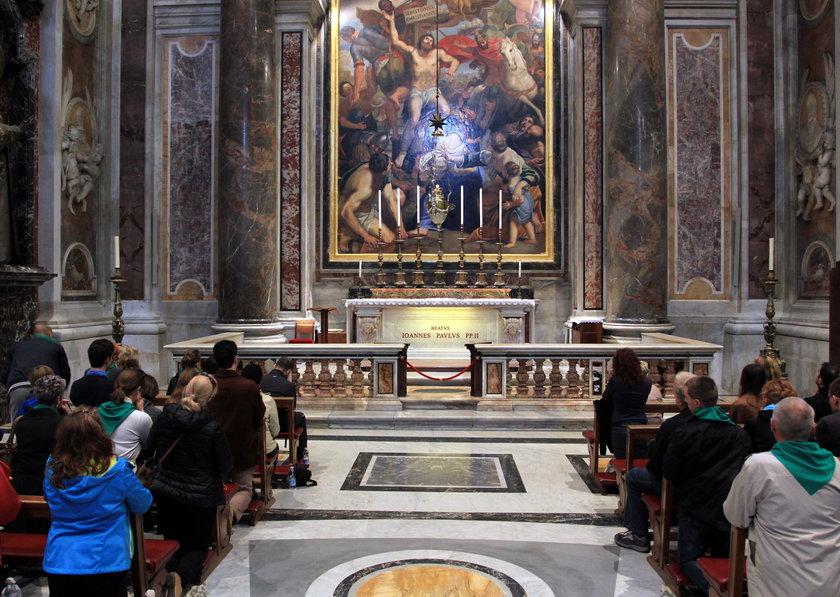 Gdy go uniewinnią, pojedzie na grób papieża