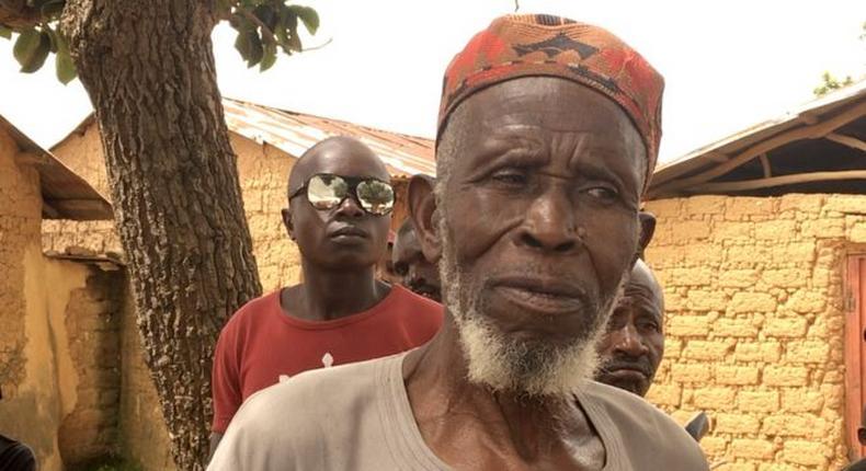 Imam Abubakar Abdullahi. (BBC)