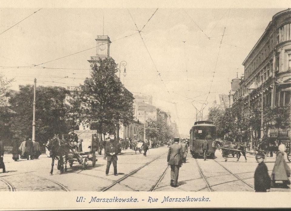 Skrzyżowanie Marszałkowskiej z Al. Jerozolimskimi