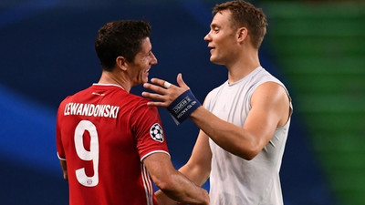 Lewandowski, Neuer and De Bruyne nominated for UEFA player prize