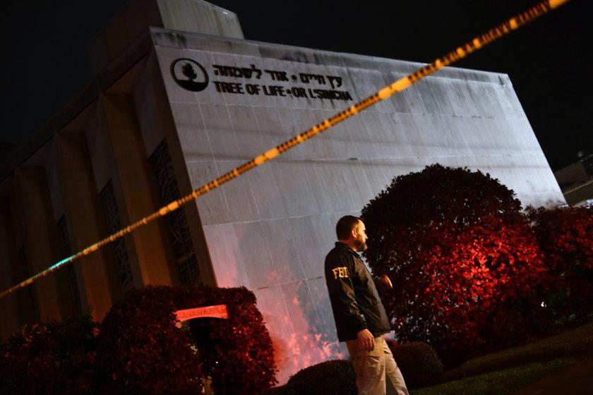 Masakra w synagodze w USA