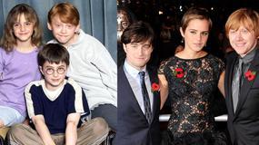 """Gwiazdy """"Harry'ego Pottera"""" - jak się zmienili przez 10 lat?"""