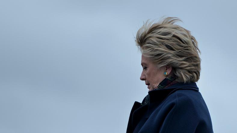 Clintonów nie było na terenie posiadłości w czasie zdarzenia