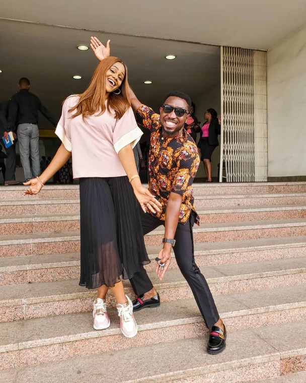 Apart from the fact that Timi and Busola Dakolo are one fine couple, they give us the love vibes every time. A day doesn't go by without Timi showering accolades on his wife and family on social media.  (Instagram/Timi Dakolo)