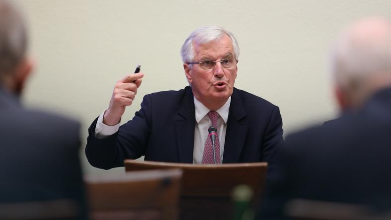 Główny negocjator Komisji Europejskiej ds. Brexitu Michel Barnier