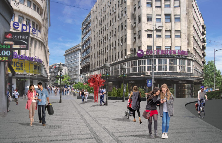 Uređenje Sremske ulice