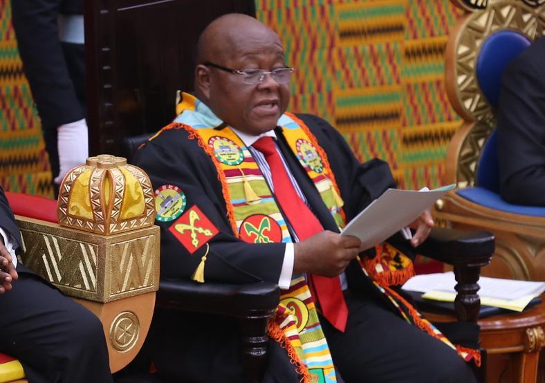 Prof. Aaron Mike Oquaye, Speaker of Parliament