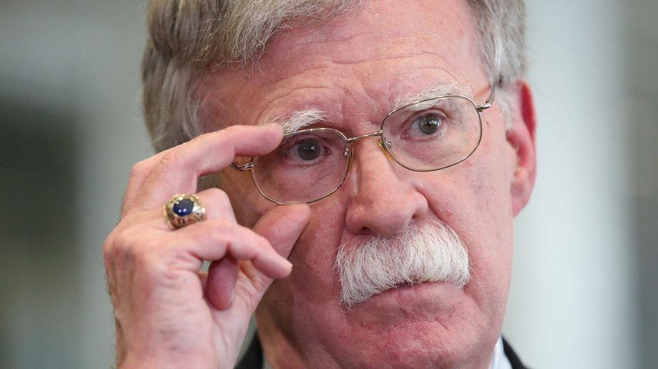 Były doradca ds. bezpieczeństwa narodowego John Bolton