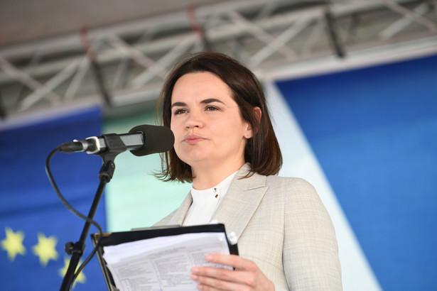 Swiatłana Cichanouska, liderka białoruskiej opozycji