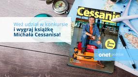 """KONKURS: Wygraj książkę M. Cessanisa, pt. """"Na walizkach"""" z autografem autora"""