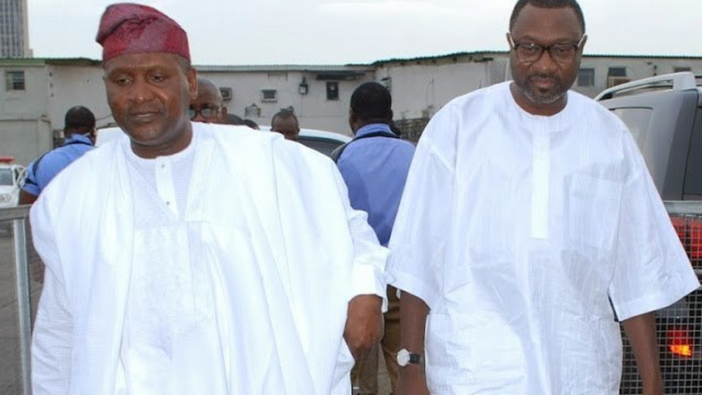Image result for femi otedola and dangote
