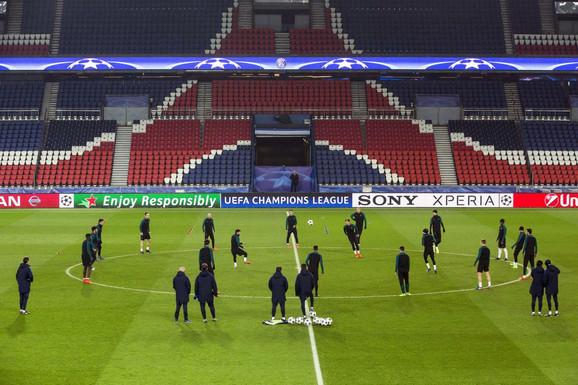 Poslednji trening fudbalera Barse pred duel sa