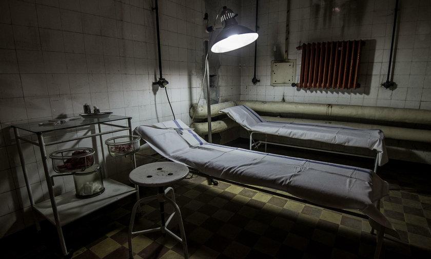 Schrony pod szpitalem Żeromskiego w Nowej Hucie