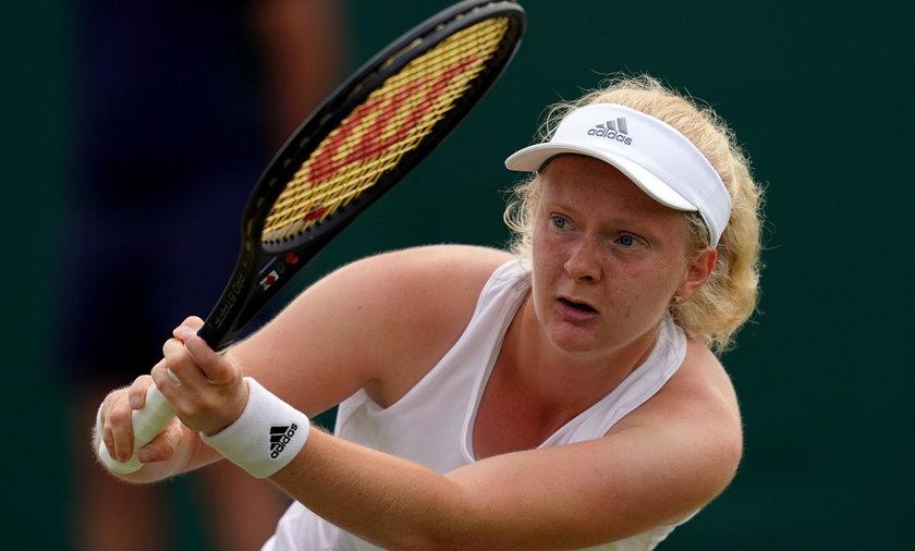 Francesca Jones wystąpiw Australian Open