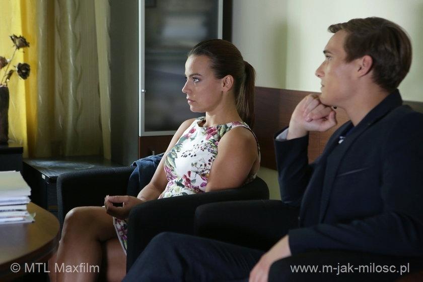 Magda (Anna Mucha) i Olek (Maurycy Popiel) nie kryją rozczarowania