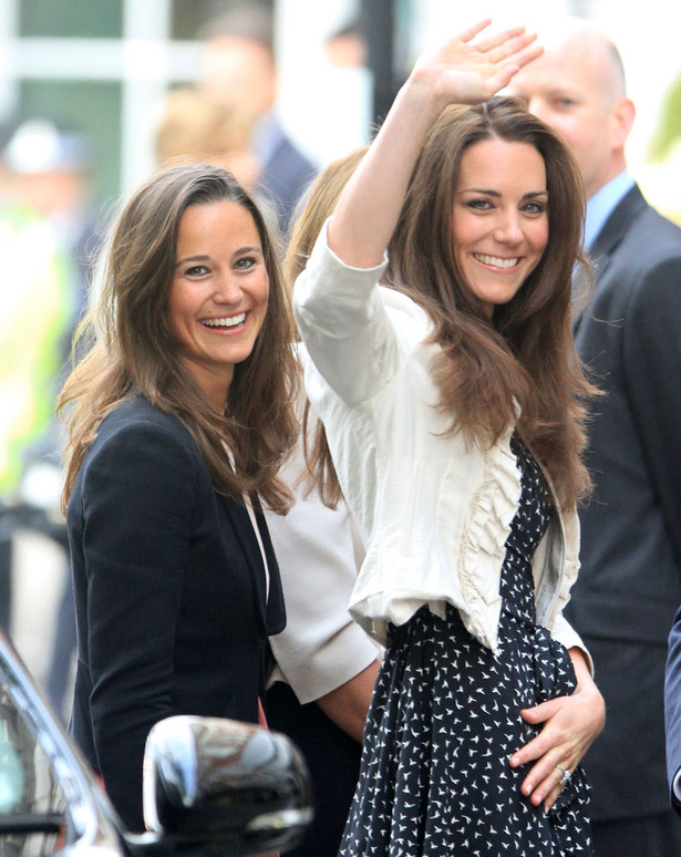 Księżna Cambridge - Katarzyna i Pippa Middleton