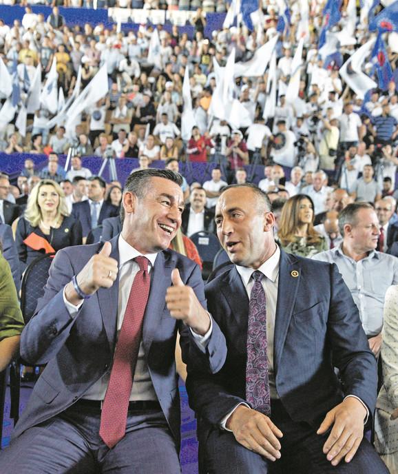 Kqadri Veselji sa Ramušom Haradinajem