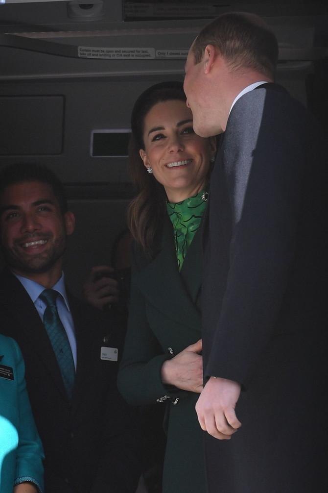 Kejt Midlton i princ Vilijam doputovali u Irsku