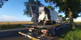 Koszmarny wypadek. Kierowca tira nie miał szans