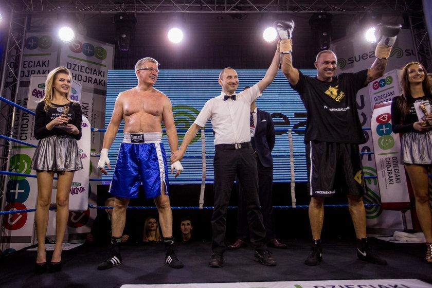 Charytatywna gala bokserska