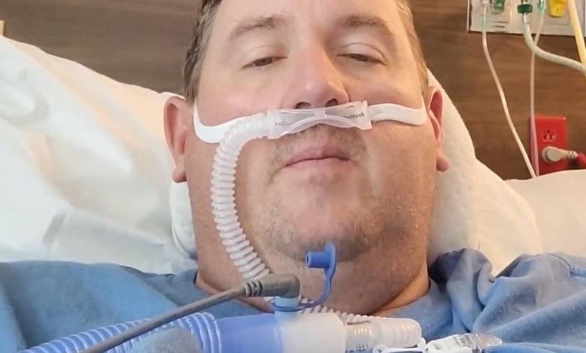 Travis Campbell (43 l.) w szpitalu.