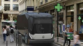 Futurystyczna ciężarówka miejska