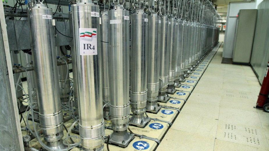 Irański ośrodek nuklearny Natanz