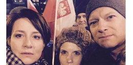 Ostaszewska i Stuhr w nocy przed Sejmem. Przyszli, bo musieli