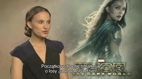 """""""Thor: Mroczny świat"""": Natalie Portman o swojej roli"""