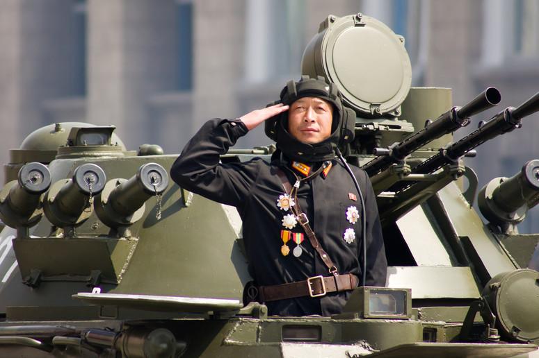 Policja w Korei Północnej