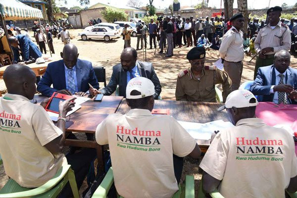 Documents you will be required to carry for Huduma Namba registration