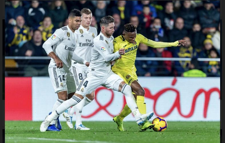 Samuel Chukwueze proved too tough for Real Madrid defence (Getty Images)