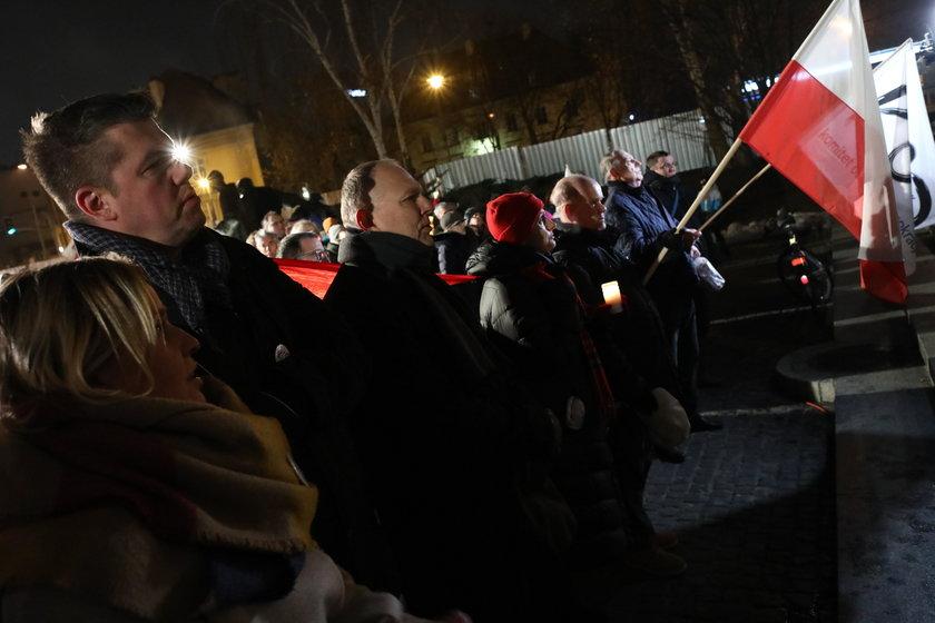 Demonstracja przed Sądem Najwyższym