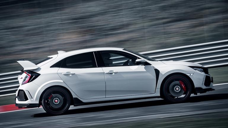 Honda Civic Type R ponownie królem Nurburgringu