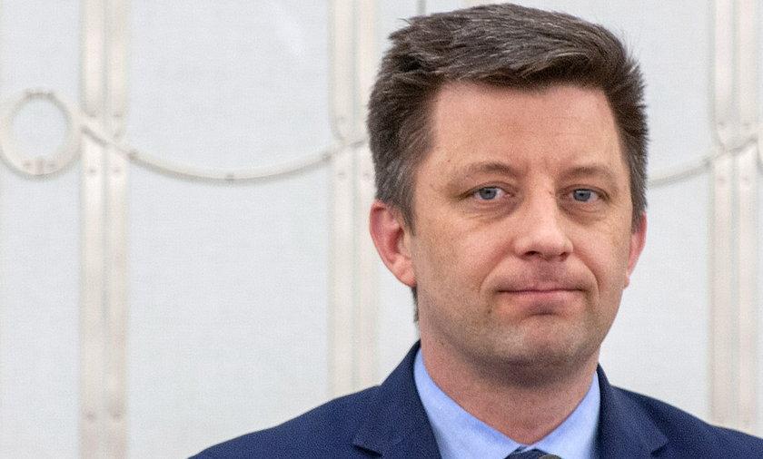 Szef Kancelarii Prezesa Rady Ministrów Michał Dworczyk.