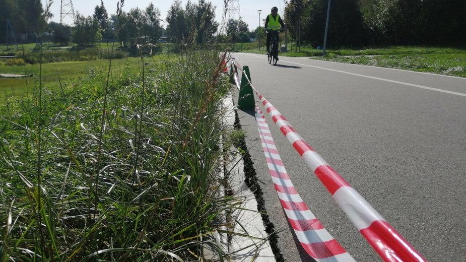 Problemy z zalewem w Skierniewicach