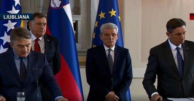 Predsednistvo BiH i Borut Pahor