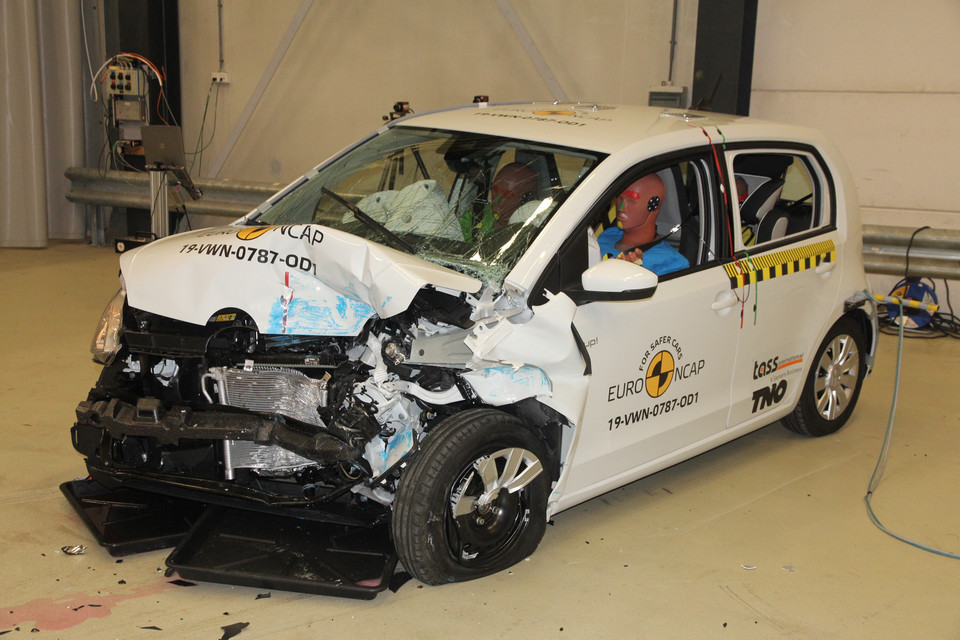 Crash-test: Volkswagen up!/Skoda Citigo, Seat Mii