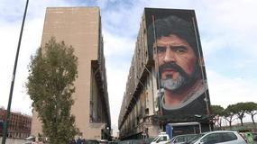 W Neapolu powstał wielki mural przedstawiający Diego Maradonę